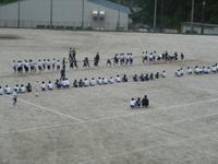 体育祭練習1